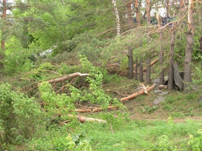 ШОК! Ураган в Бирске (42 фото)
