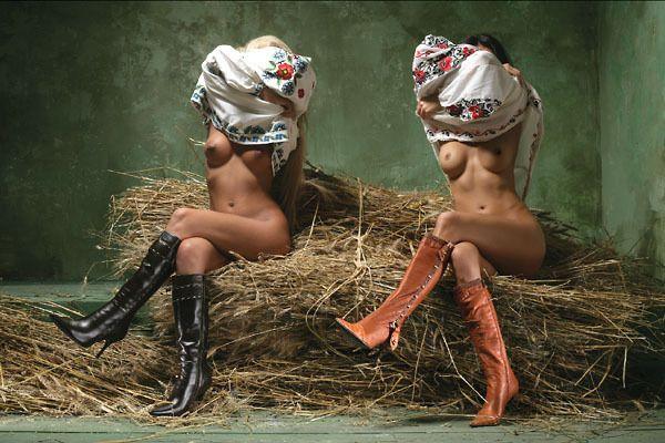 Украинская мода. НЕСКОЛЬКО НЮ (16 фото)