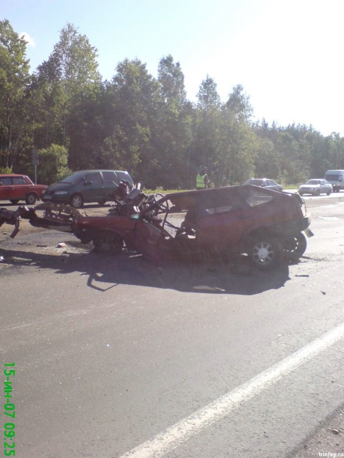 Присланная авария (8 фото)