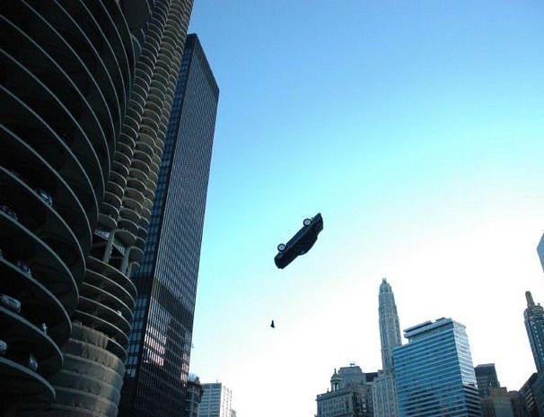 А вы верите, что автомобили умеют летать? (18 фото)