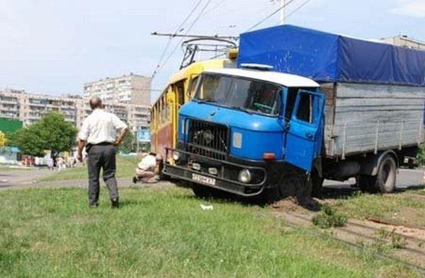 Киевский трамвайчик (5 фото)