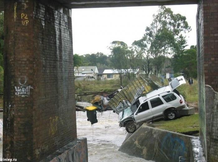 Наводнение в Ньюкастле (27 фото)