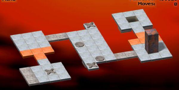 Bloxorz - классная, но сложная игра