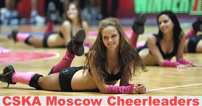 Девченки из группы поддержки ЦСКА (54 фото)