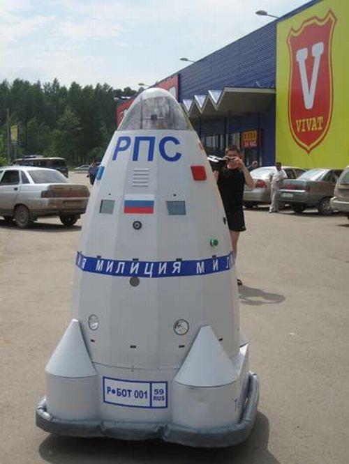 Робокоп заступил на службу в Перми (2 фото)