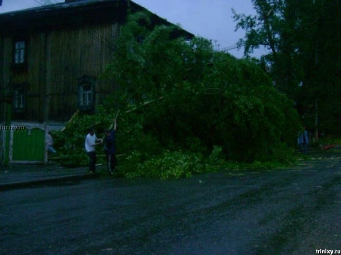 Ураган в Томске 17.06.07 (59 фото)