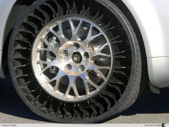 Классный новый вид колес (6 фото)