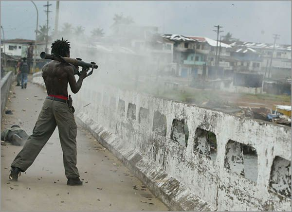 Война в Либерии (31 фото)