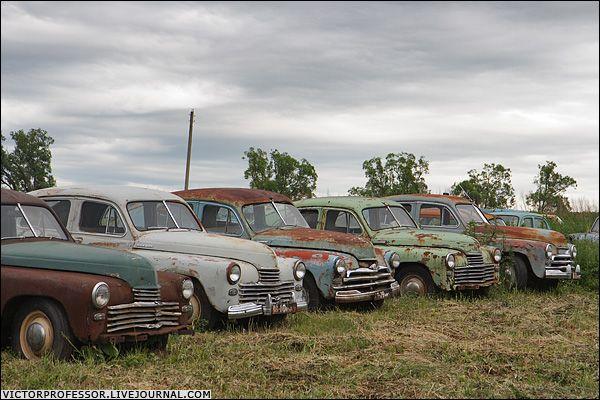 Музей старых автомобилей (40 фото)