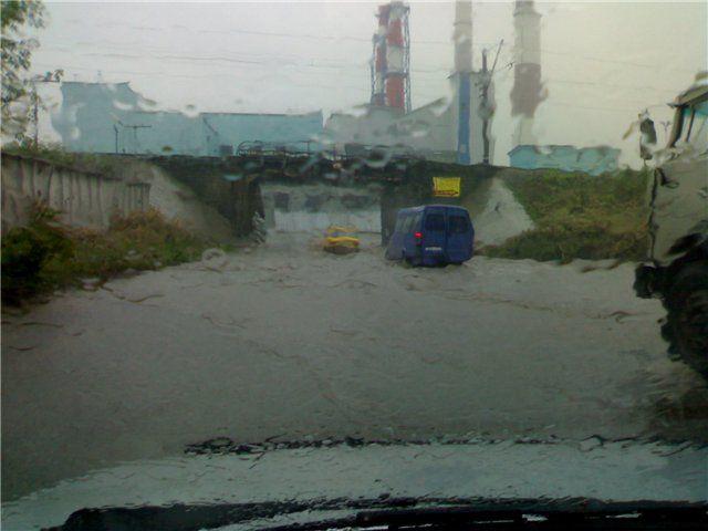 Казань затопило (17 фото)