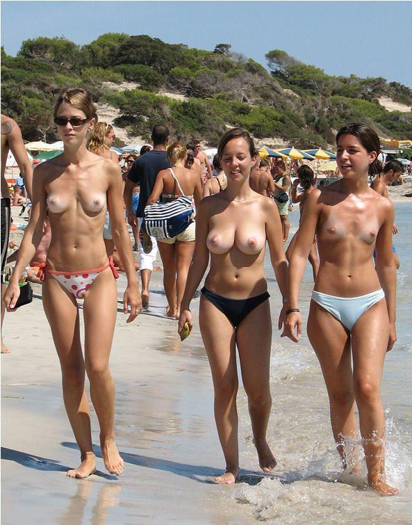 Все на пляже топлес фото