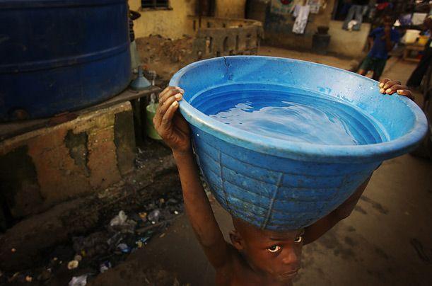 Нигерия - богатство и нищета (28 фото)
