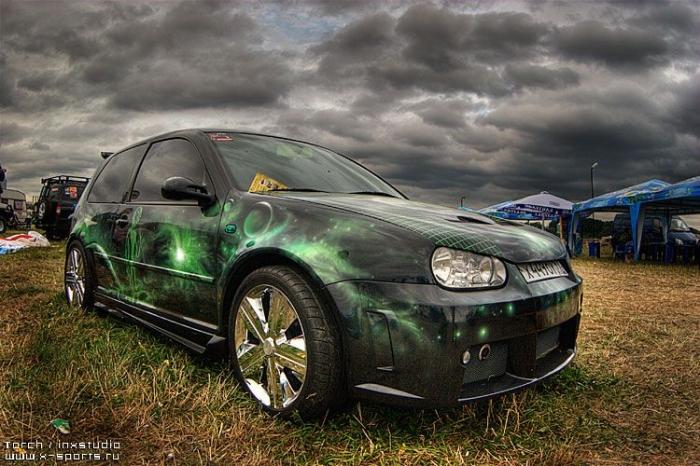 Автоэкзотика ' 07 в HDR (50 фото)