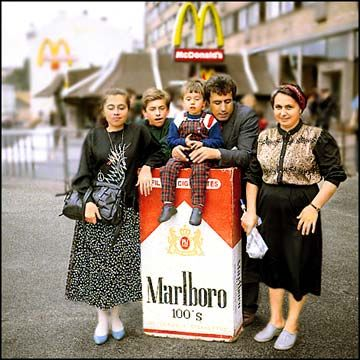 Москва глазами иностранцев. Год 1990 (24 фото)