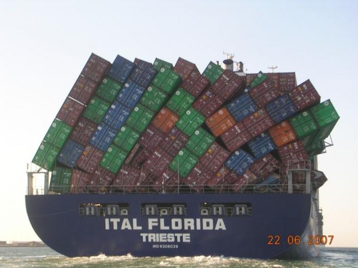 Перевозка контейнеров морем
