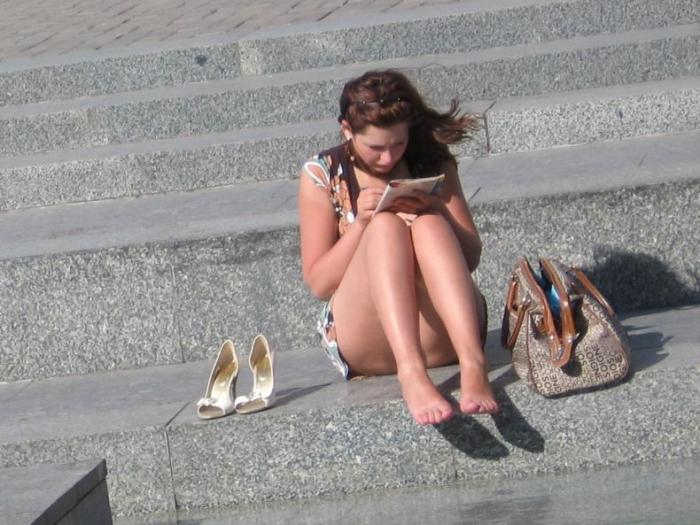 Летняя жара 2007 (20 фото)