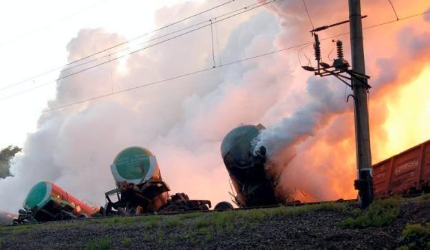 Желтый фосфор на Украине (9 фото)