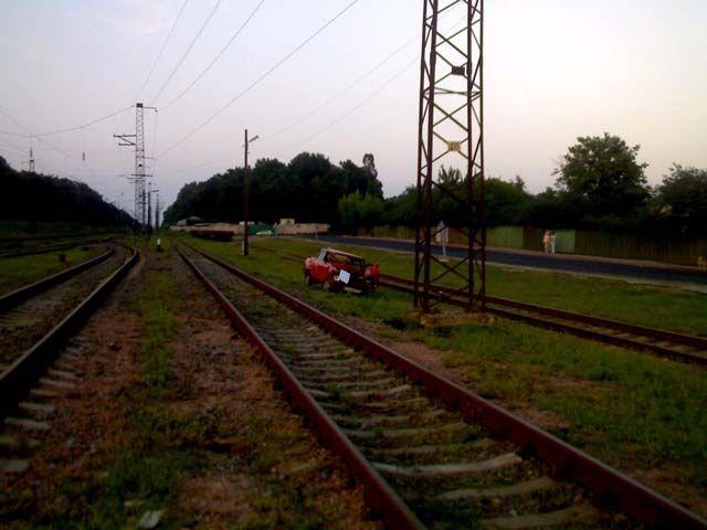 ДТП на железке (5 фото)