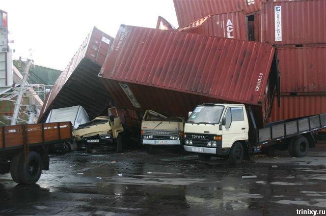 Судна попавшие в аварии (75 фото)