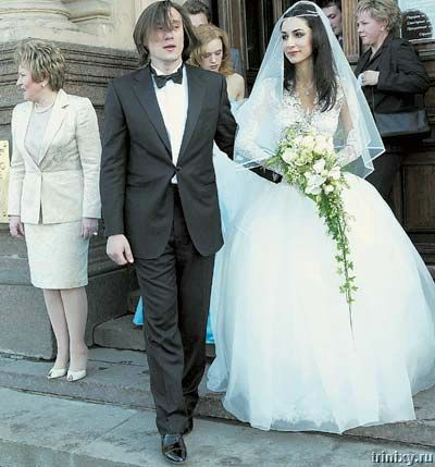Платье звезд на свадьбу