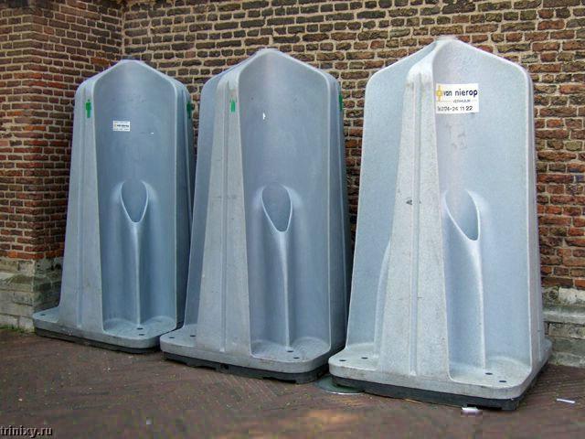 Общественные туалеты в Амстердаме (5 фото)