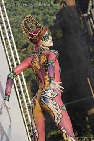 Всемирный фестиваль по бодипэйнтингу (84 фото) НЮ