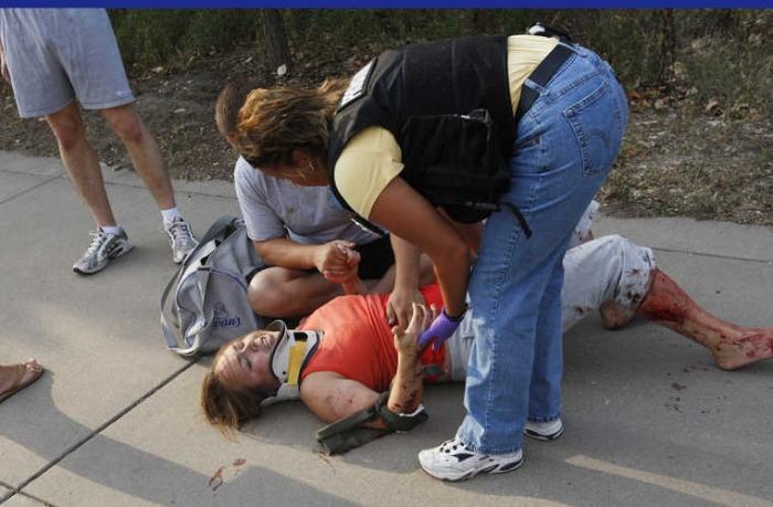 Трагедия в Миннеаполисе (22 фото)