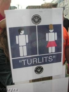 Таблички на туалетах (105 фото)