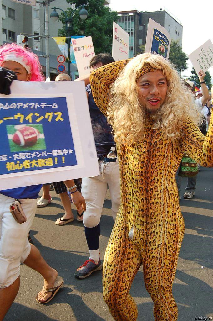 Японский гей-парад (29 фото) .