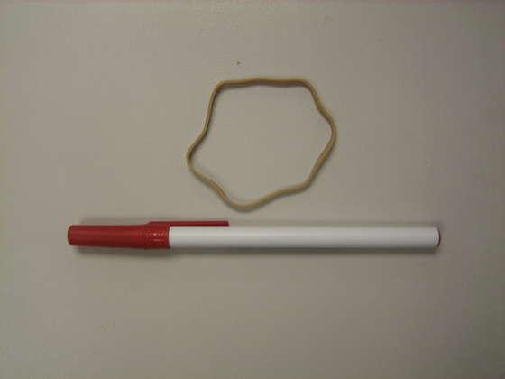 Как создать лук из ручки? (6 фото)