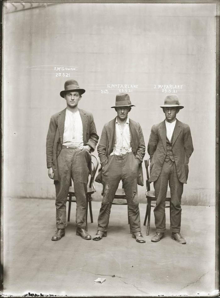 Преступники начала 19-го века (50 магшотов)