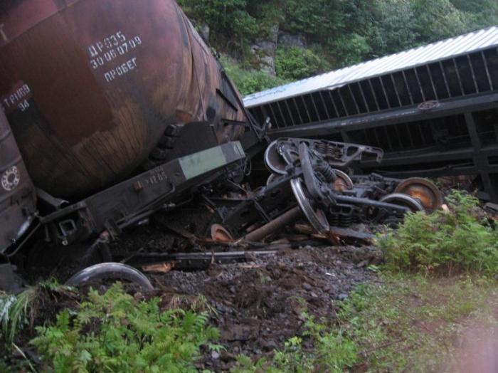 Авария поезда (12 фото)
