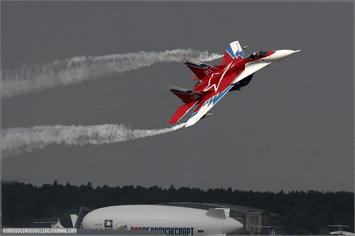 МАКС-2007 — взгляд с другой стороны аэродрома (28 фото)