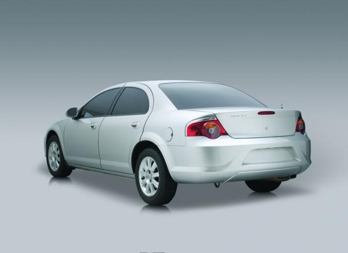 Новый автомобиль ГАЗ Siber (8 фото)