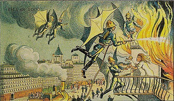 Каким виделся 2000 год в 1910-м (23 фото)