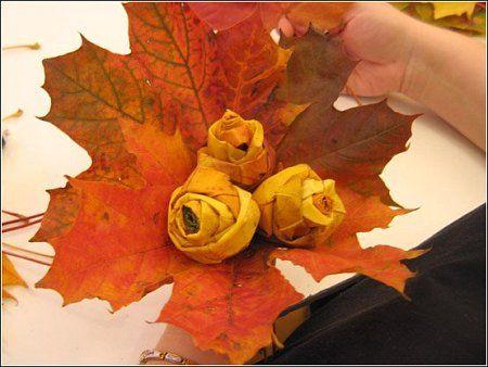 Осенняя поделка для 4 класса