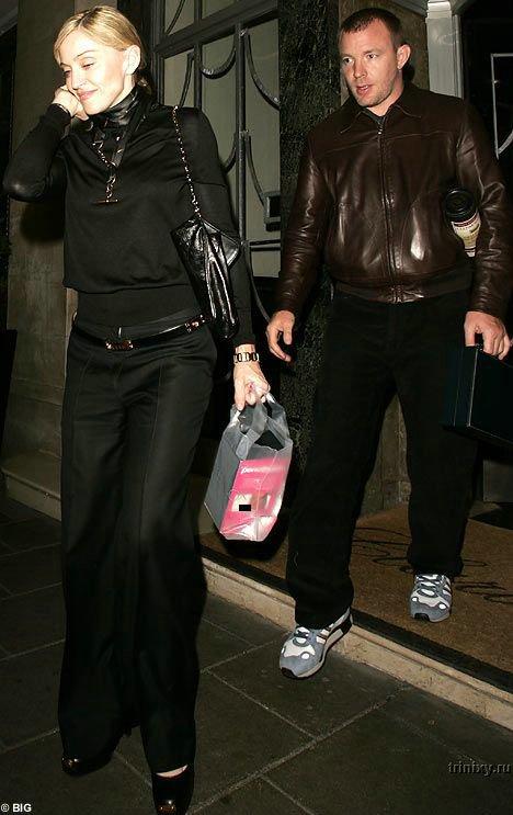 Жестокий прикол Мадонны над Гаем Ричи (3 фото)