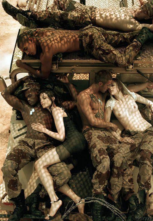 Make Love Not War (20 фото) НЕСКОЛЬКО НЮ