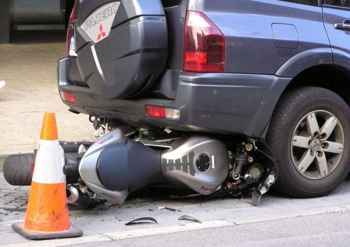 Случай на парковке (5 фото)