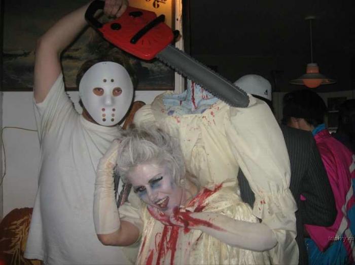 Костюм для хэллоуина своими руками с фото