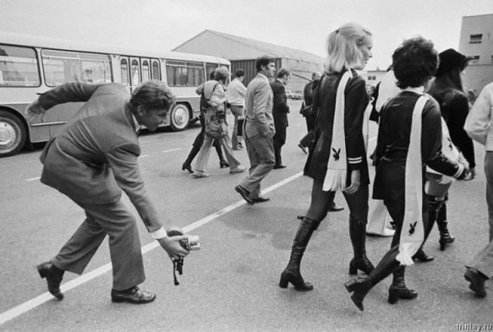 Миниюбки 70-х (36 фото)