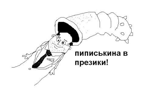 Виктор Пиписькин - кандидат в президенты от интернета. История вопроса (8 картинок + видео)
