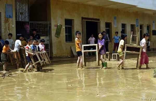 Большой китайский потоп (35 фото)