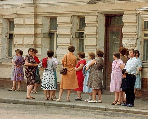 Восьмидесятые в СССР.