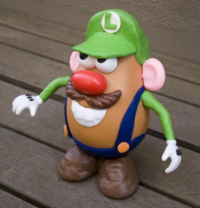Класс! Герои фильмов в виде картофеля (31 фото)