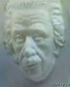 Иллюзия. Маска Эйнштейна (5 фото + видео)