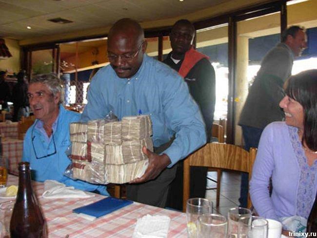Почему не стоит пользоваться наличкой в Зимбабве