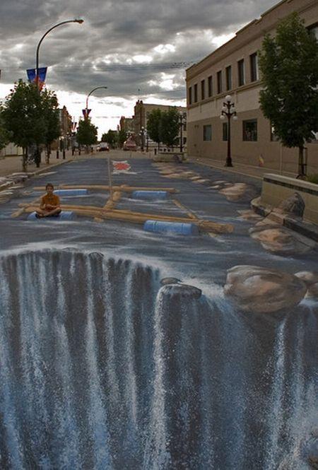 Самая большая уличная 3D иллюзия (24 фото)