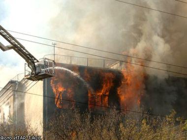 Страшный пожар в Москве (37 фото + видео)