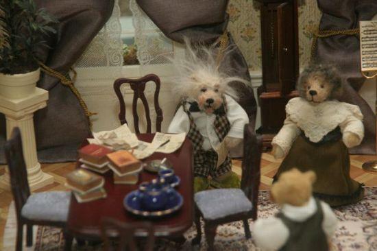 Плюшевые мишки в истории XX века и искусстве (65 фото)